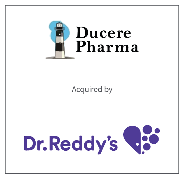 Ducere Pharma acquired by Dr. Reddy's May 25, 2016