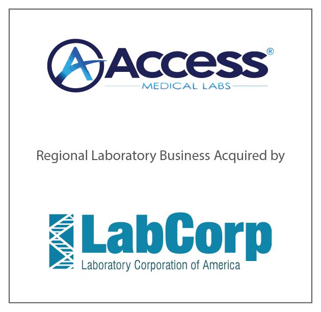 Access Regional Laboratory Business acquired by LabCorp June, 2017