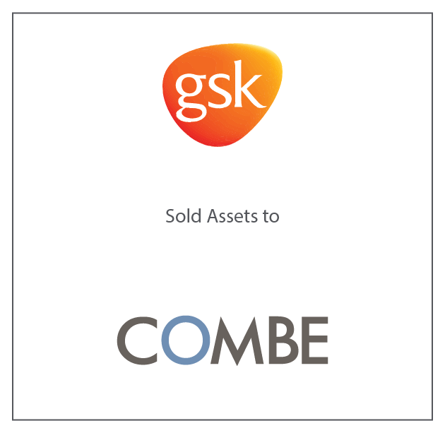 GSK Sold Assets to COMBE