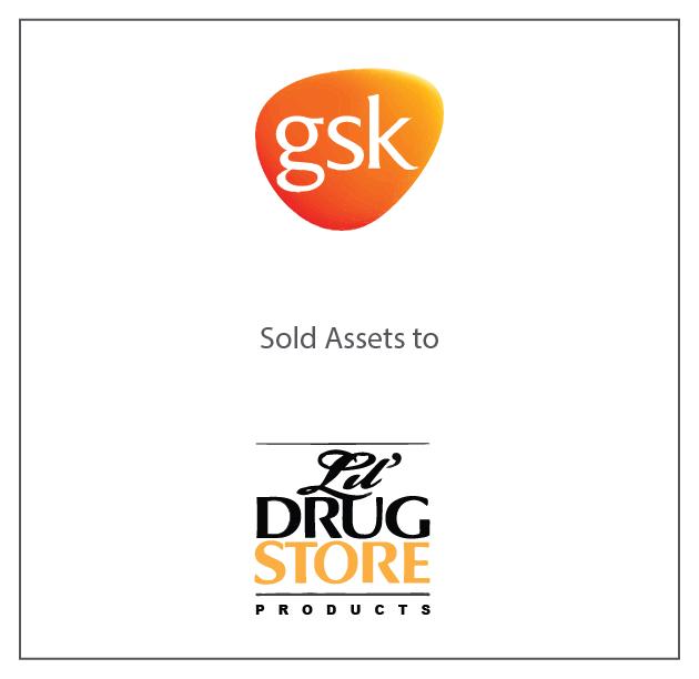 GSK sold assets to Lil' Drug Store