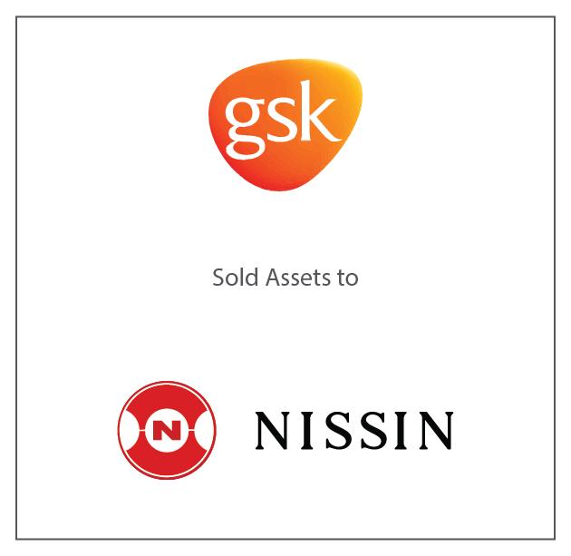 GSK Sold Assets to Nissin