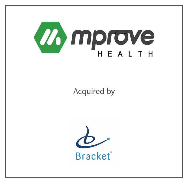 mProve Health acquired by Bracket October 24, 2017