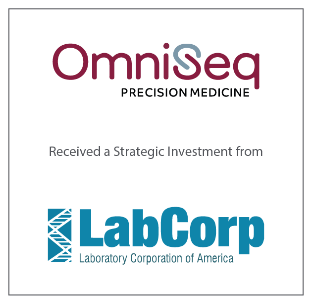 OmniSeq Received a Strategic Investment from LabCorp August 21, 2017
