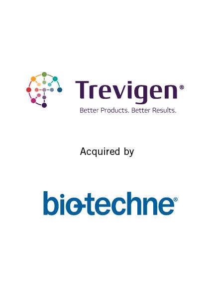 Trevigen acquired by Bio-Techne  September 5, 2017