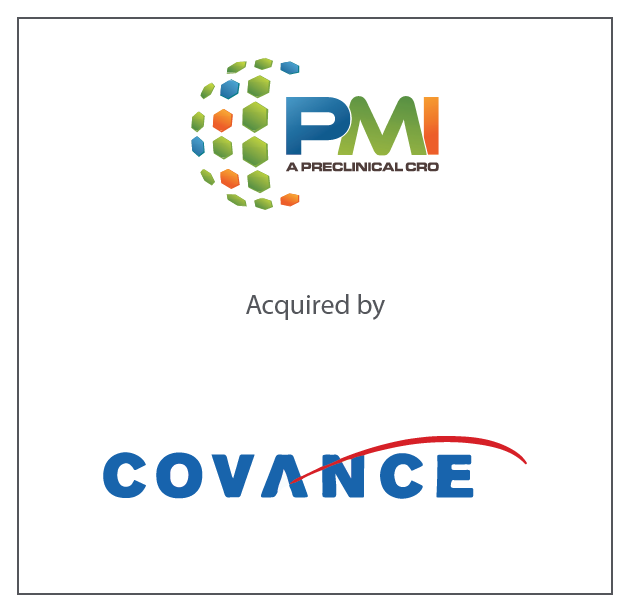 PMI Preclinical was acquired by Covance, a subsidiary of LabCorp October 2018