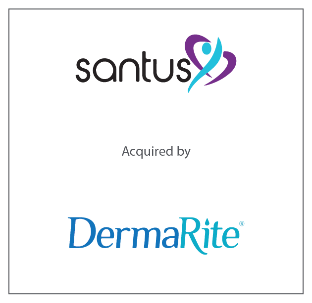 Santus Laboratories (owned by HealthEdge Partners) was purchased by DermaRite (owned by Tailwind Capital Group) August 2018