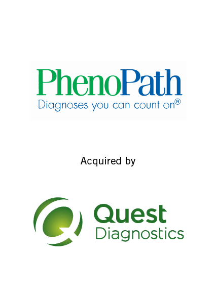PhenoPath has been acquired by Quest Diagnostics September 2018