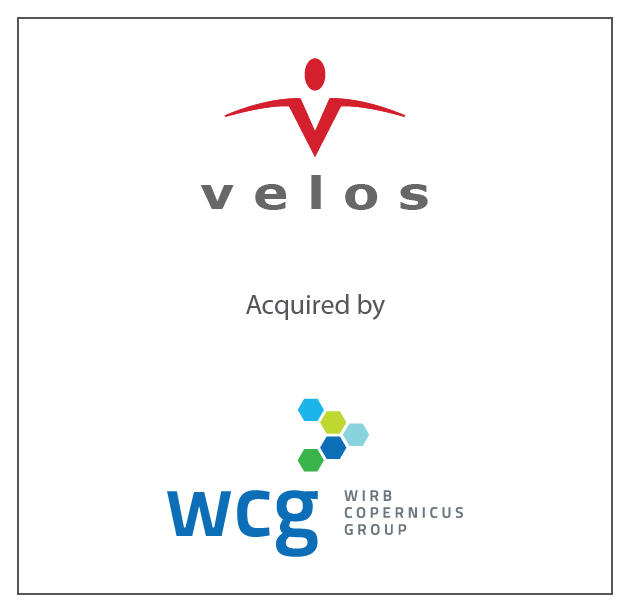 Velos acquired by WCG, a portfolio company of Arsenal Capital Partners