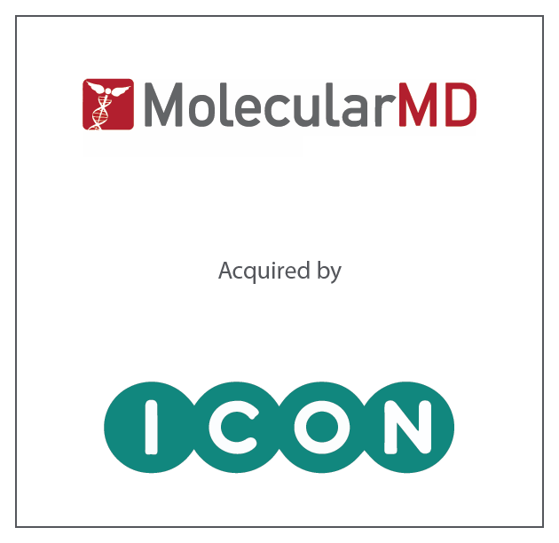 MolecularMD has been acquired by ICON Plc.