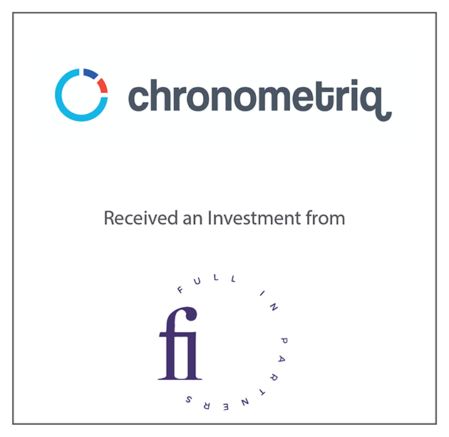 Chonometriq Received an Investment from Full In Partners October 1, 2019