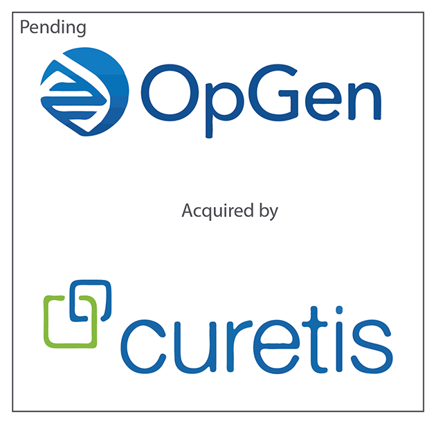 Curetis and OpGen Enter Into Definitive Agreement to Combine Businesses