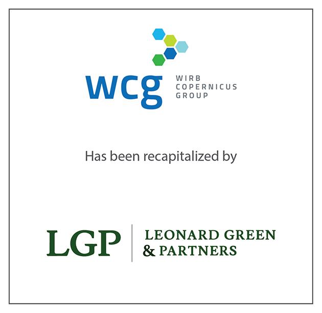 "WIRB-Copernicus Group (""WCG"") recapitalizes, led by Leonard Green & Partners, L.P."