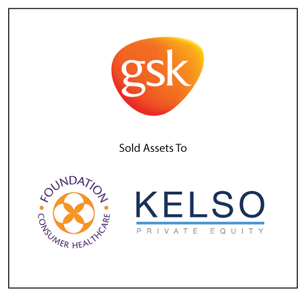 GSK is selling assets to Foundation Consumer Healthcare